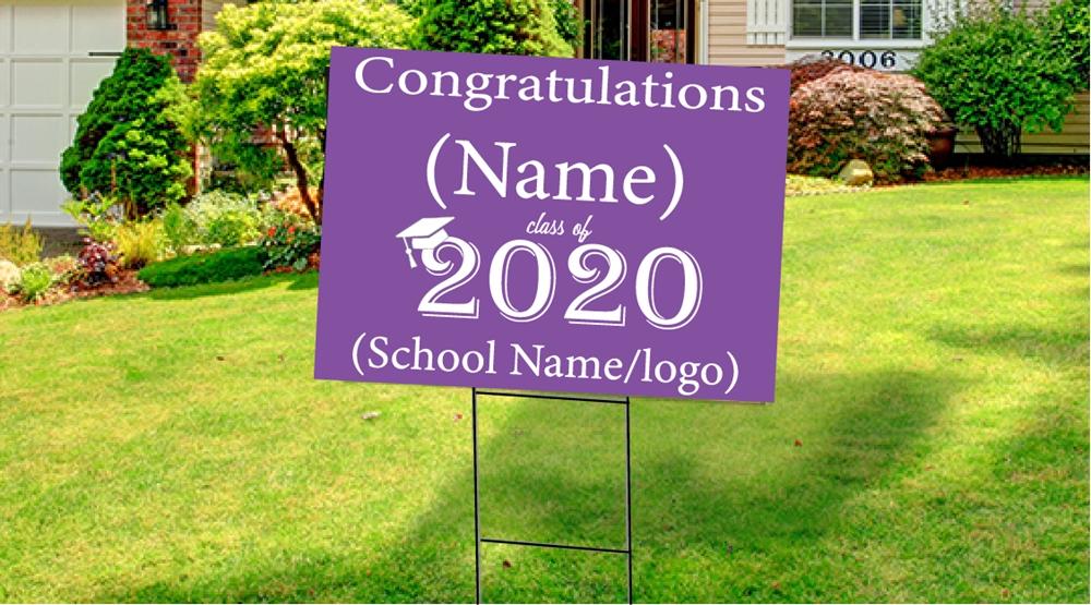 Custom Graduation Yard Signs